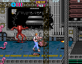 konami aliens arcade game online